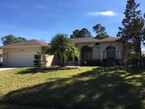 1352 Sw Tadlock Avenue, Port Saint Lucie, FL 34953
