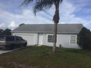 1101 Sw Glastonberry Avenue, Port Saint Lucie, FL 34953
