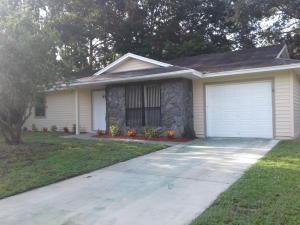 1238 Sw Babcock Avenue, Port Saint Lucie, FL 34953
