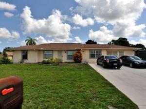 457 Sw Bridgeport Drive, Port Saint Lucie, FL 34953