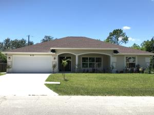 632 Sw Homeland Road, Port Saint Lucie, FL 34953