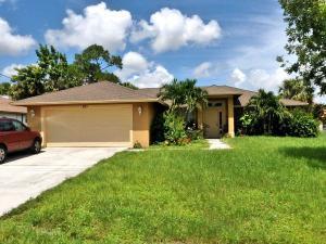 921 Sw Haleyberry Sw Avenue, Port Saint Lucie, FL 34953