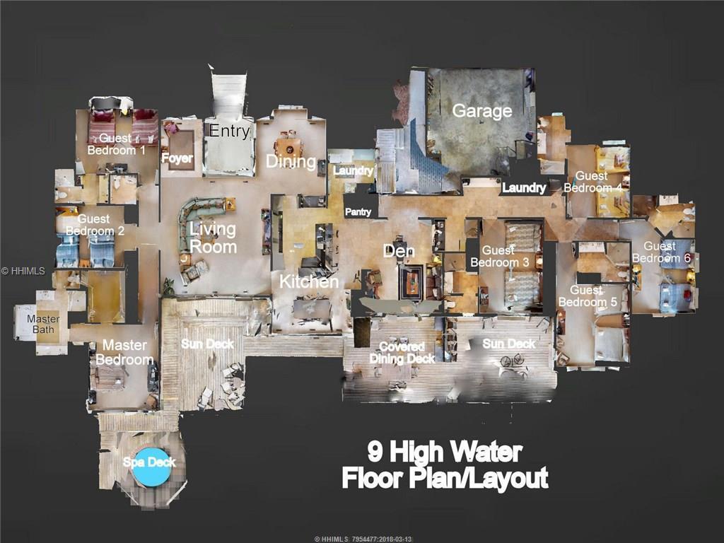 9 High Water, Hilton Head Island, SC 29928