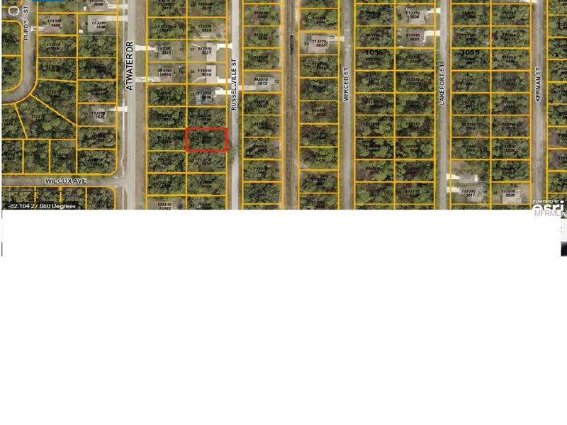 Russellville St, North Port, FL 34288