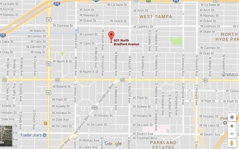 601 N Bradford Ave, Tampa, FL 33609