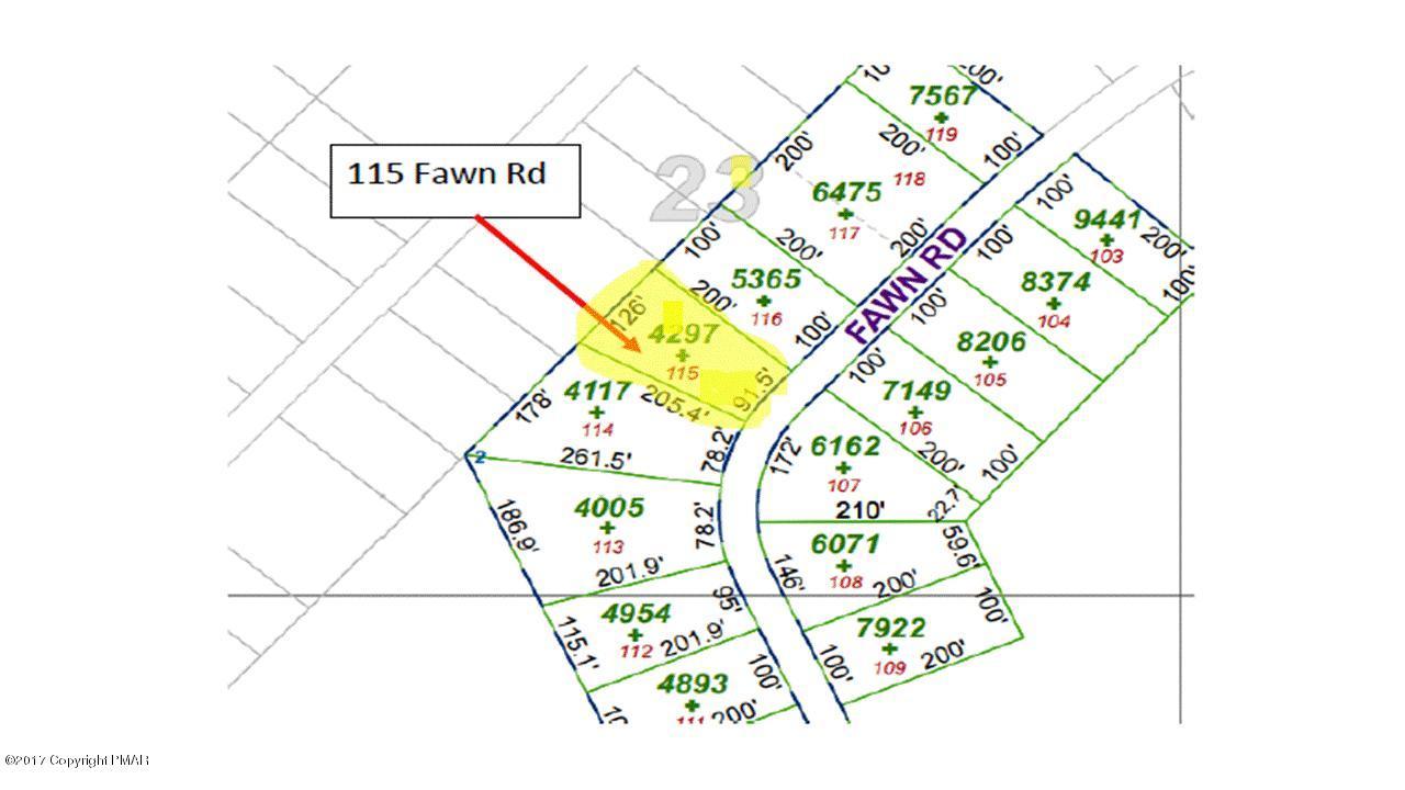 115 Fawn Rd, Pocono Lake, PA 18347
