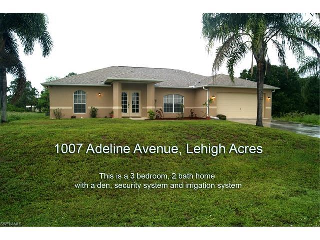 1007 Adeline Ave, Lehigh Acres, FL 33971