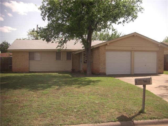 4733 Don Juan Street, Abilene, TX 79605