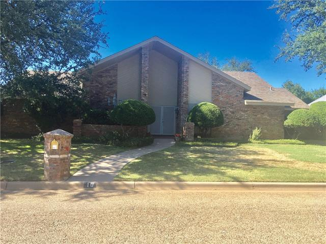 10 Cypress Point Street, Abilene, TX 79606