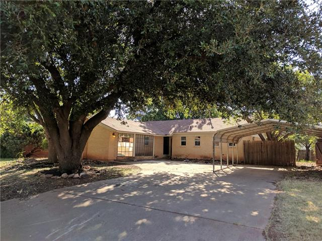 3233 Wenwood Road, Abilene, TX 79606