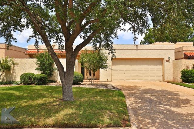 45 Tamarisk Circle, Abilene, TX 79606