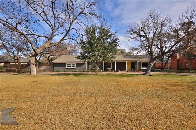 1409 Elmwood Drive, Abilene, TX 79605