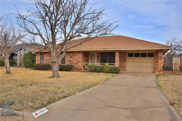4002 Chris Drive, Abilene, TX 79606