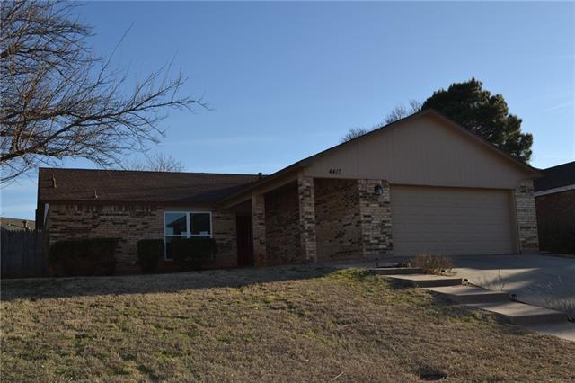 4417 Beall Boulevard, Abilene, TX 79606