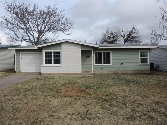 1450 S 18th Street, Abilene, TX 79602