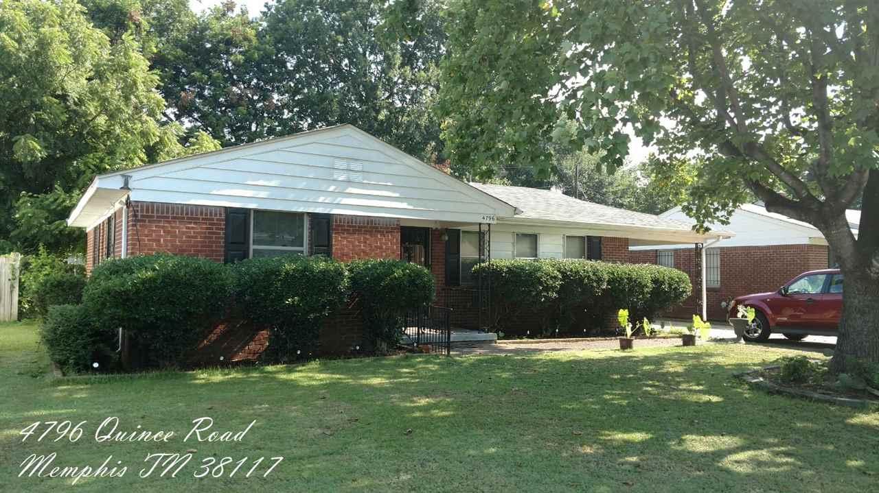 4796 Quince, Memphis, TN 38117