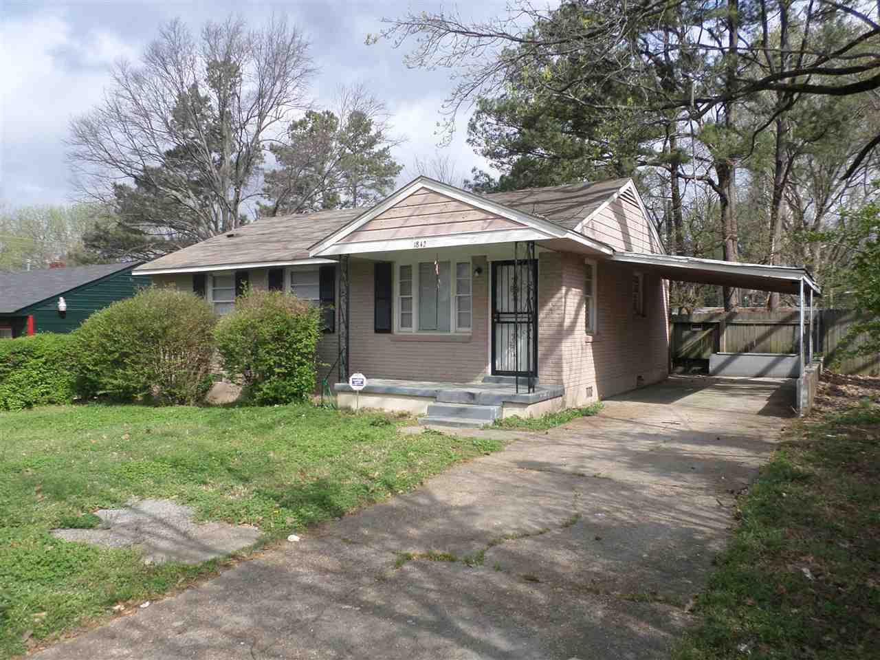 1842 Sutton, Memphis, TN 38127