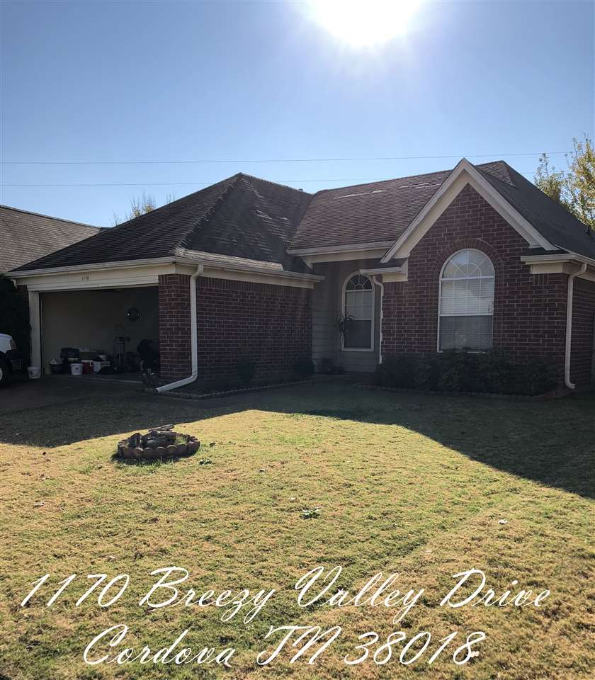 1170 Breezy Valley, Unincorporated, TN 38018