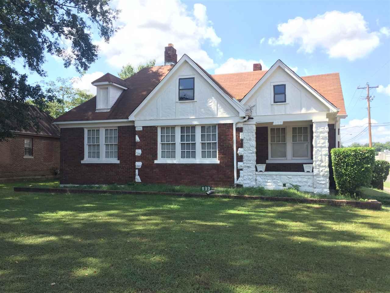 933 N Mclean, Memphis, TN 38107
