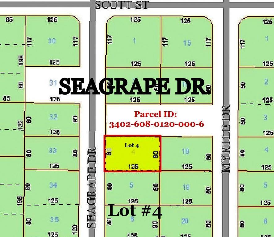 0 Seagrape Dr. Lot 4 Drive, Fort Pierce, FL 34982
