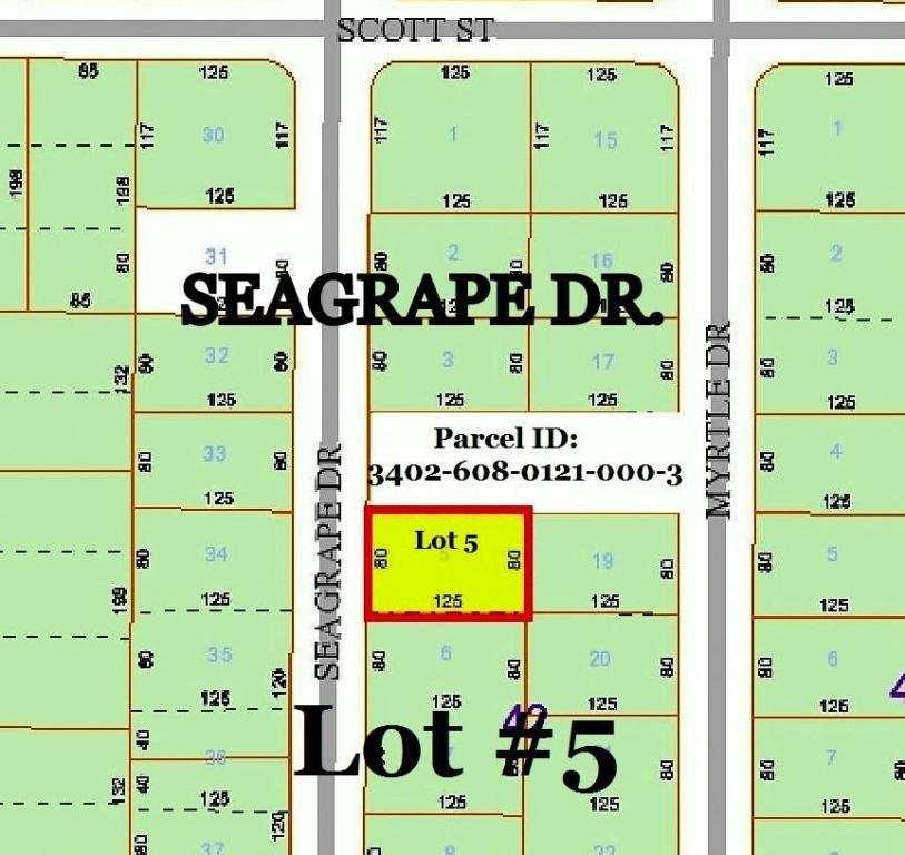 0 Seagrape Dr. Lot 5 Drive, Fort Pierce, FL 34982