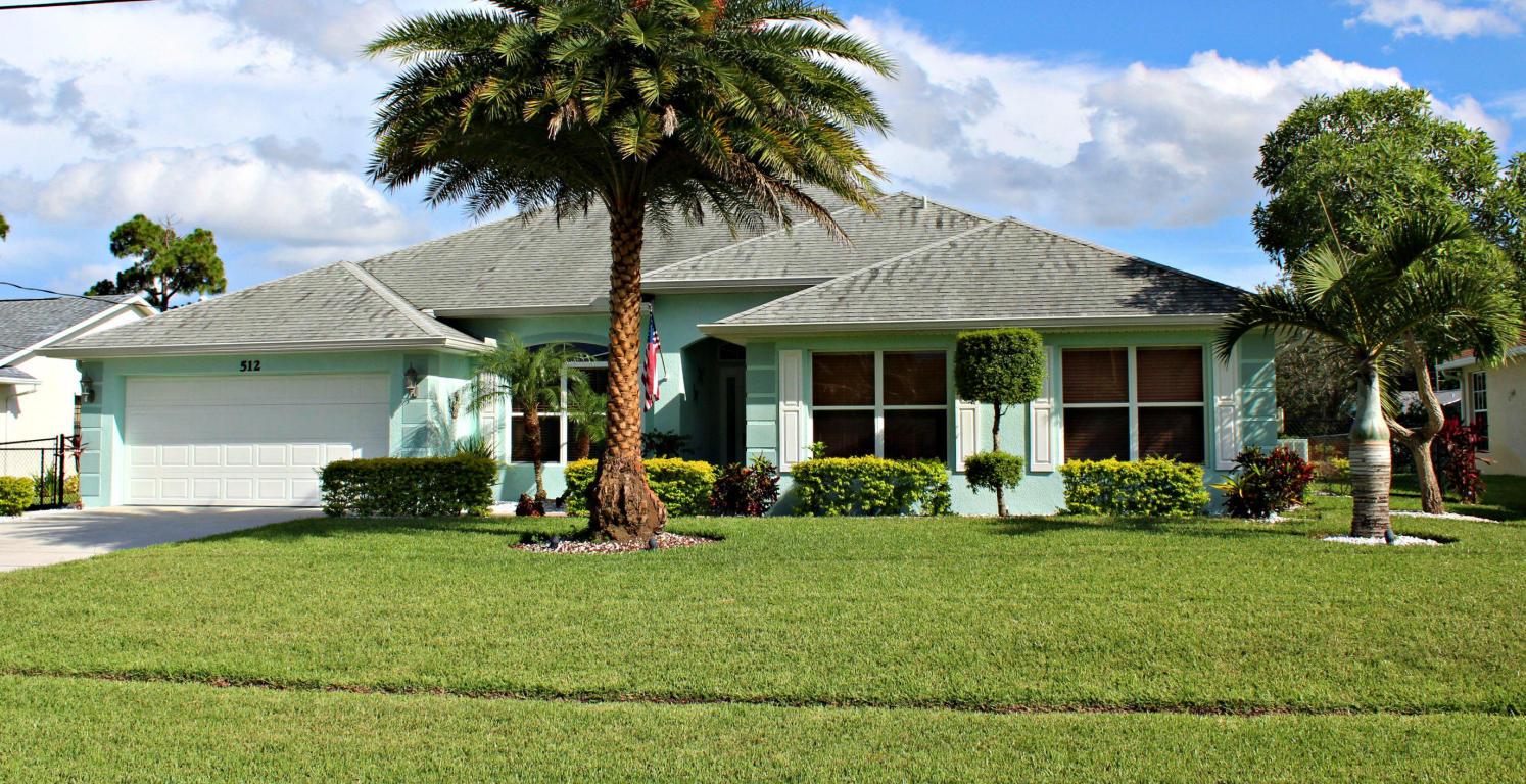 512 Se Majestic Terrace, Port Saint Lucie, FL 34983