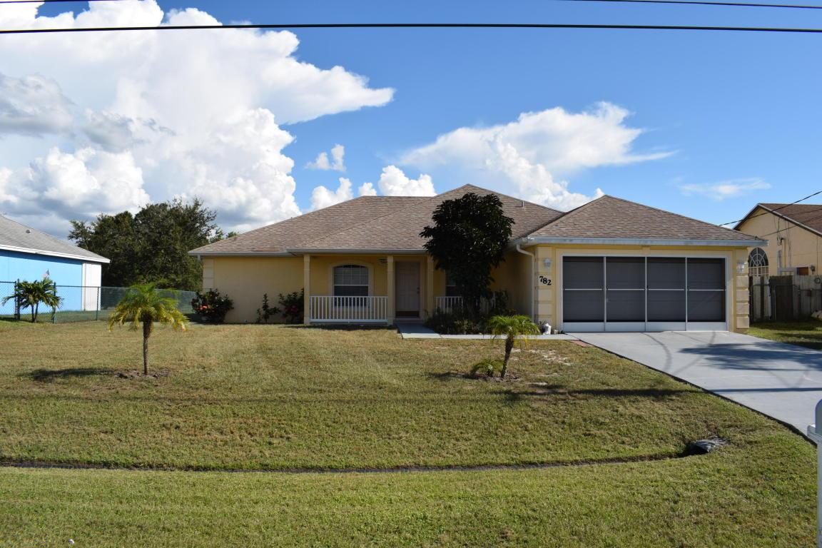 782 Sw Jordin Avenue, Port Saint Lucie, FL 34953