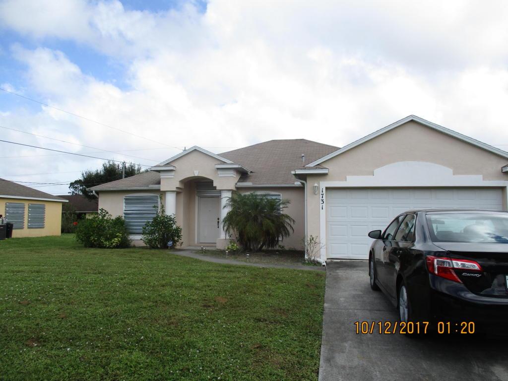 1731 Sw Cloverleaf Street, Port Saint Lucie, FL 34953