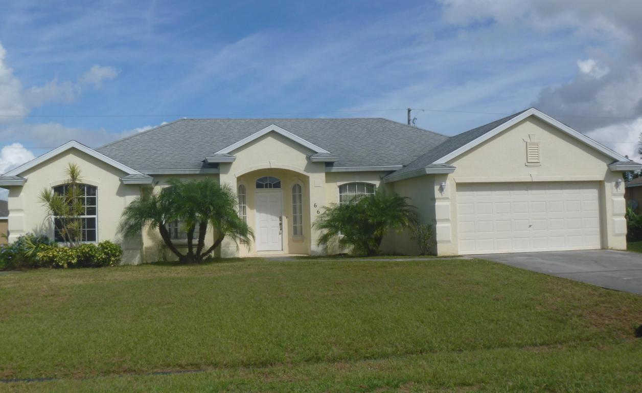 661 Sw Saragossa Avenue, Port Saint Lucie, FL 34953