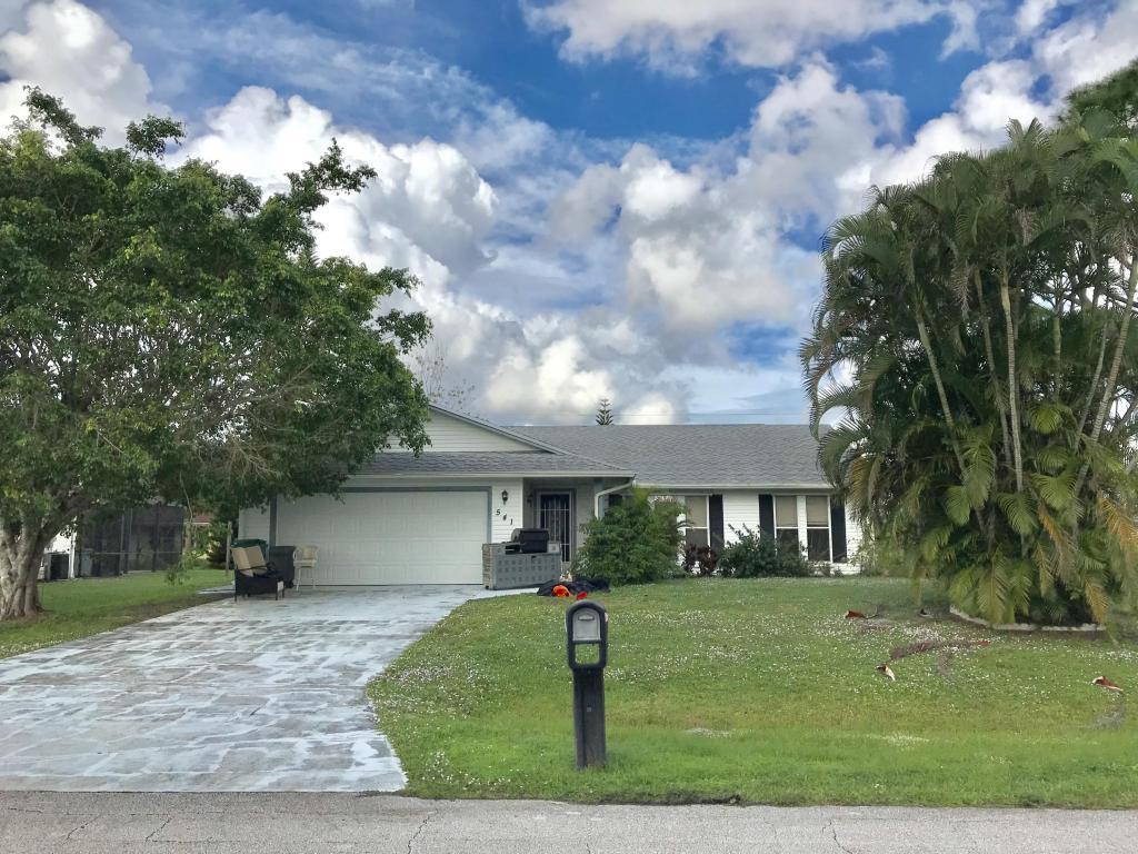 541 Sw Violet Avenue, Port Saint Lucie, FL 34983