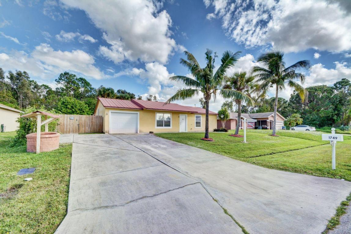 1749 Sw Gemini Lane, Port Saint Lucie, FL 34984