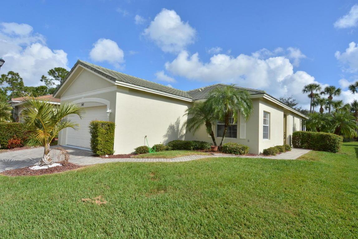 207 Sw Deleon Springs Drive, Port Saint Lucie, FL 34986
