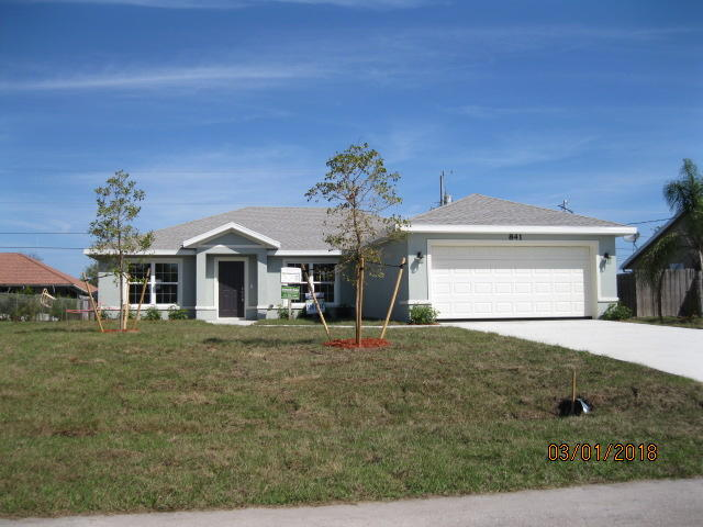 841 Sw Mccracken Avenue, Port Saint Lucie, FL 34953