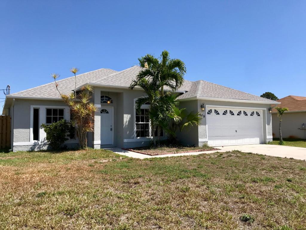 449 Sw Homeland Road, Port Saint Lucie, FL 34953