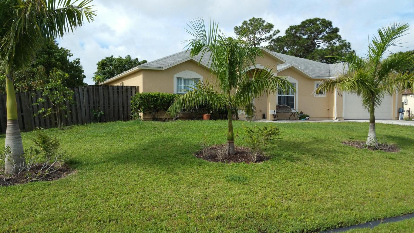 358 Nw Concord Drive, Port Saint Lucie, FL 34983