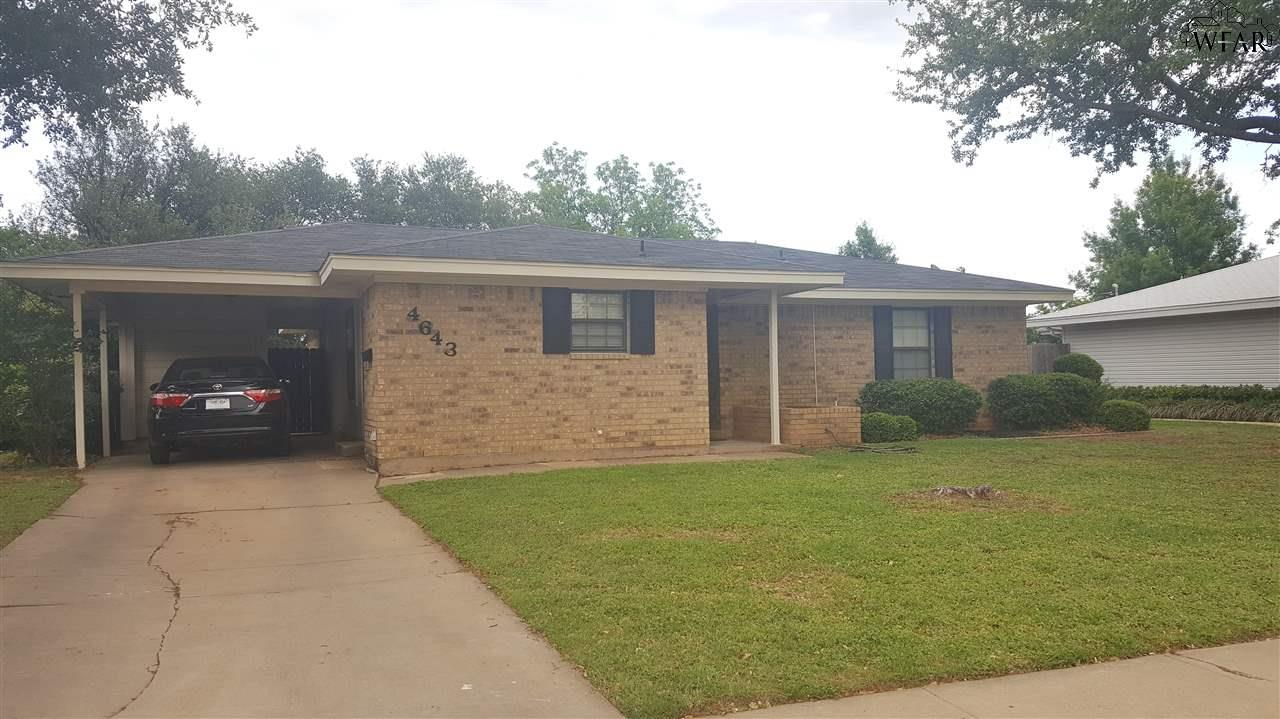 4643 University Avenue, Wichita Falls, TX 76308