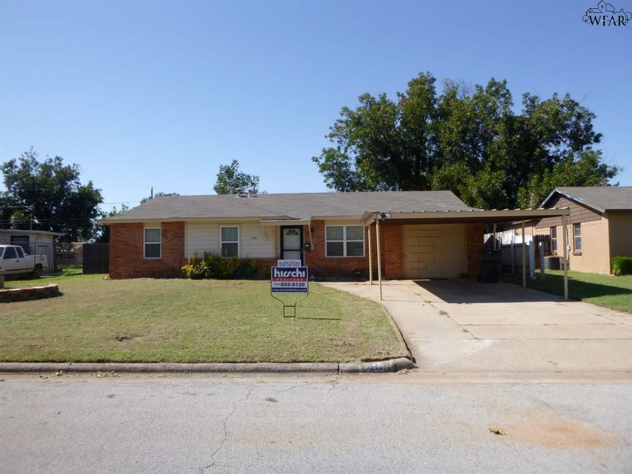 1406 Gunnison Drive, Wichita Falls, TX 76306