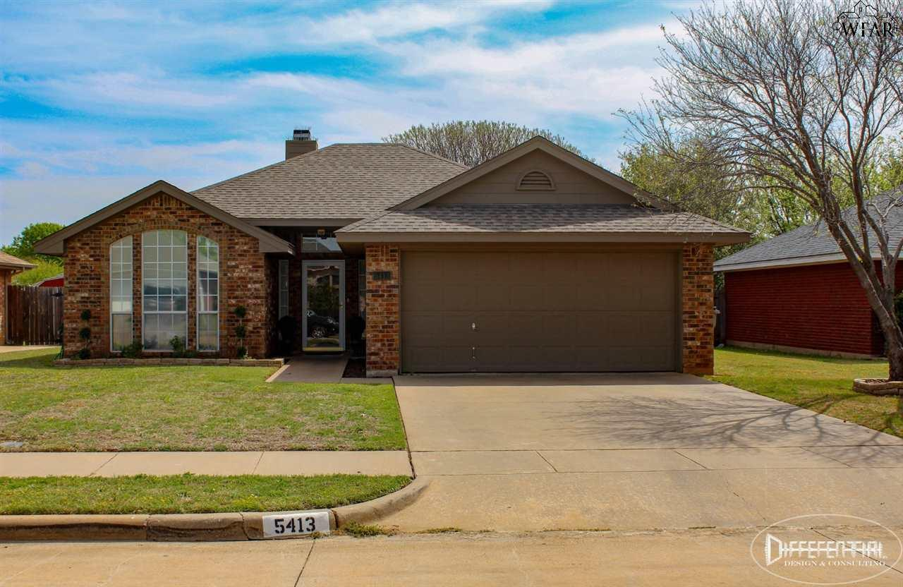 5413 Long Leaf Drive, Wichita Falls, TX 76310