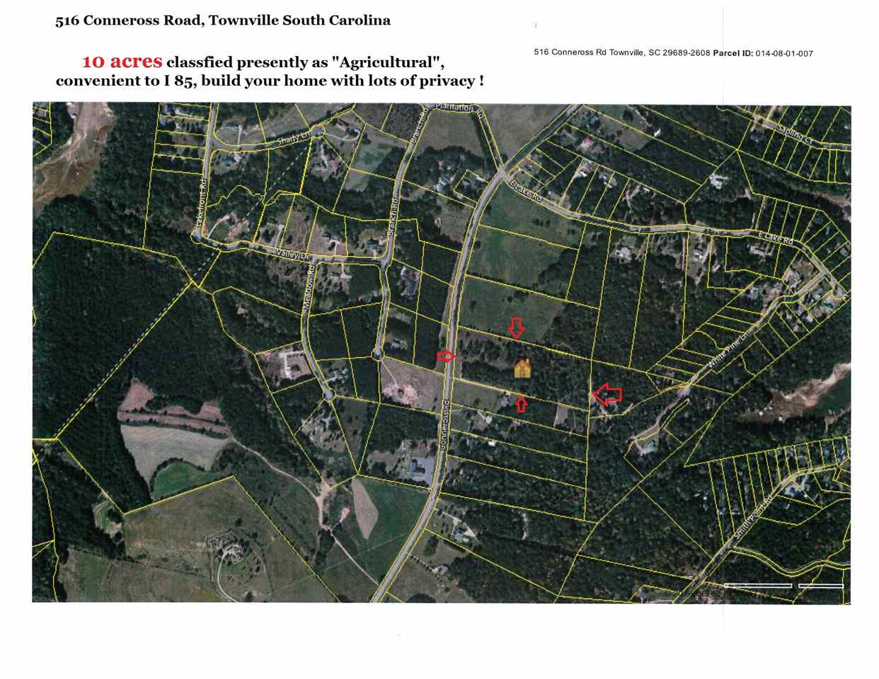 516 Conneross Road, Townville, SC 29689