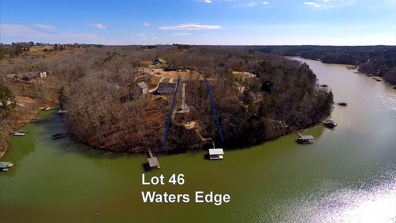 Lot 46 Waters Edge, West Union, SC 29696
