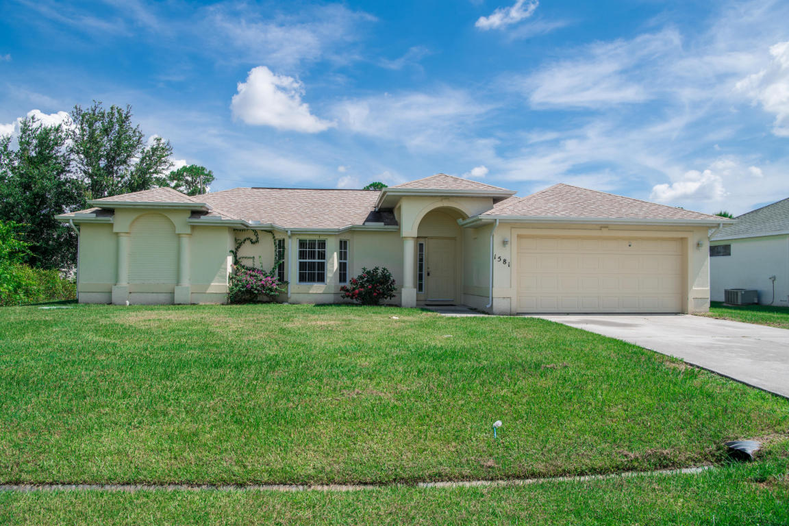 1581 Sw Crater Avenue, Port Saint Lucie, FL 34953