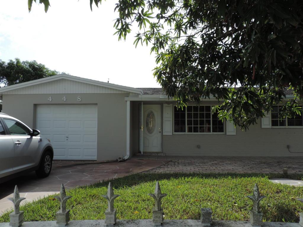 448 Fontana Drive, Lake Worth, FL 33461