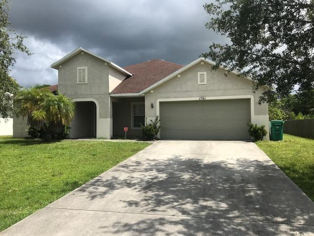 1761 Sw Bradway Lane, Port Saint Lucie, FL 34953