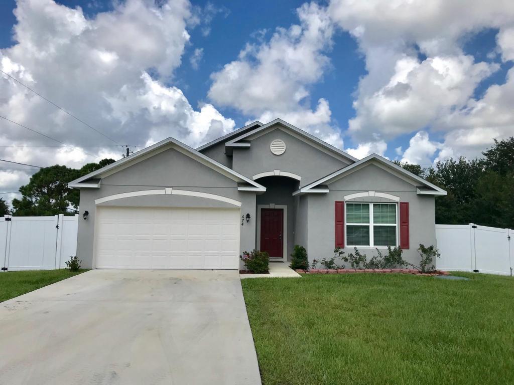 674 Sw Cynthia Street, Port Saint Lucie, FL 34983