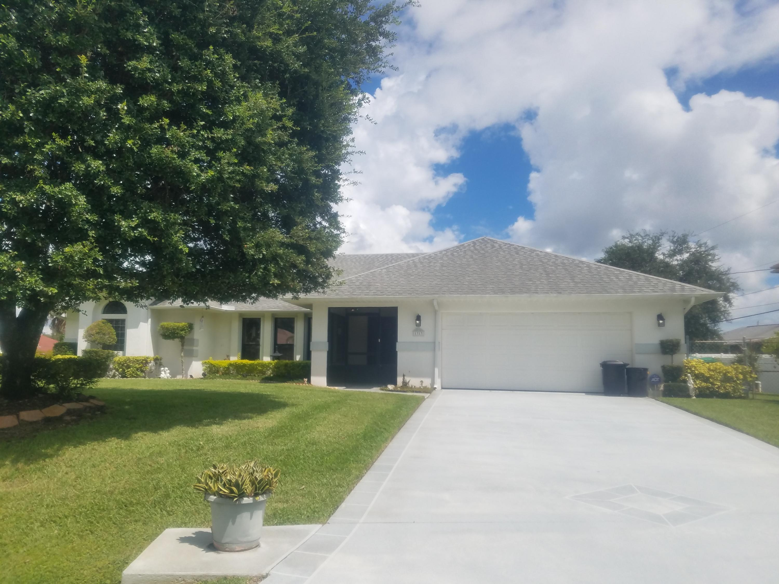 1313 Sw Wellington Avenue, Port Saint Lucie, FL 34953