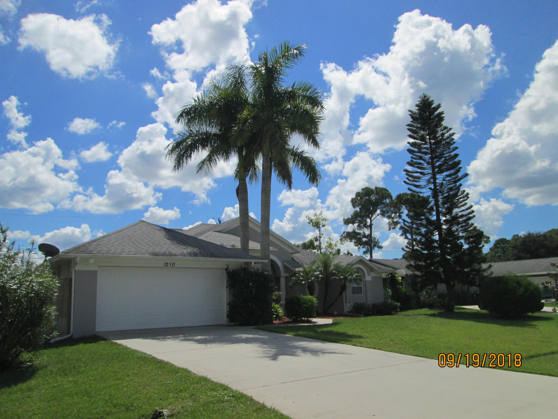 1210 Sw Marmore Avenue, Port Saint Lucie, FL 34953