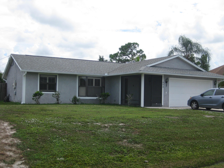 502 Sw Dairy Road, Port Saint Lucie, FL 34953