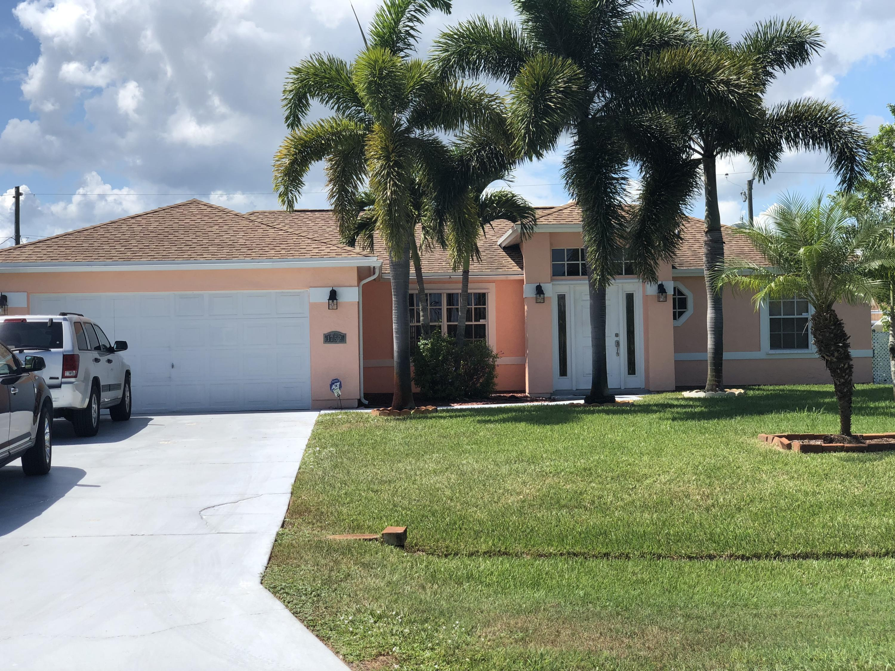 1752 Sw Finch Lane, Port Saint Lucie, FL 34953