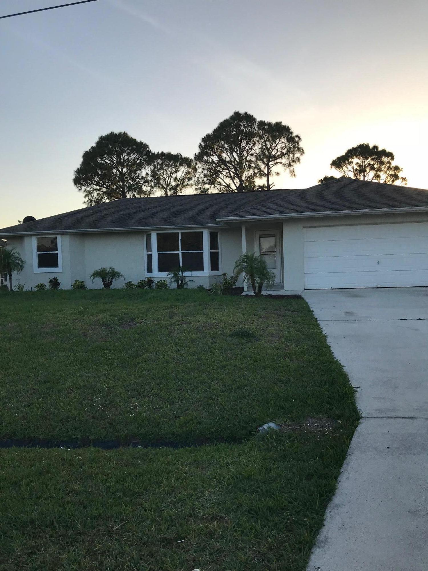 2236 Sw Plymouth Street, Port Saint Lucie, FL 34953