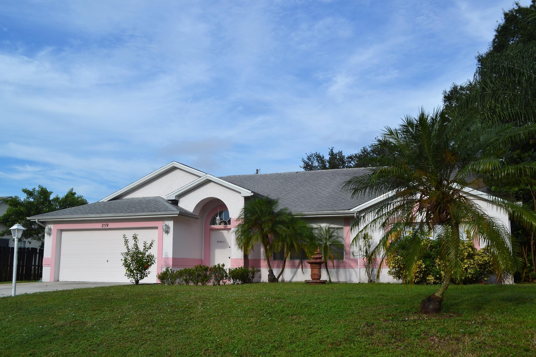 259 Sw Quick Circle, Port Saint Lucie, FL 34953